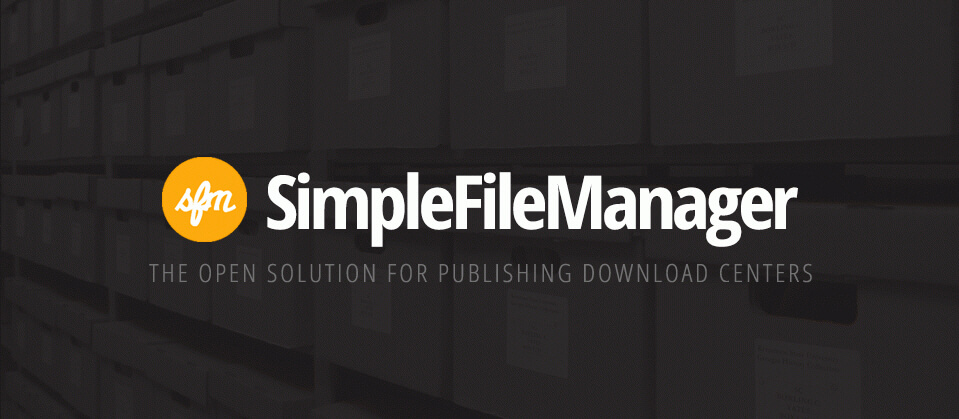 Simple File Manager Joomla