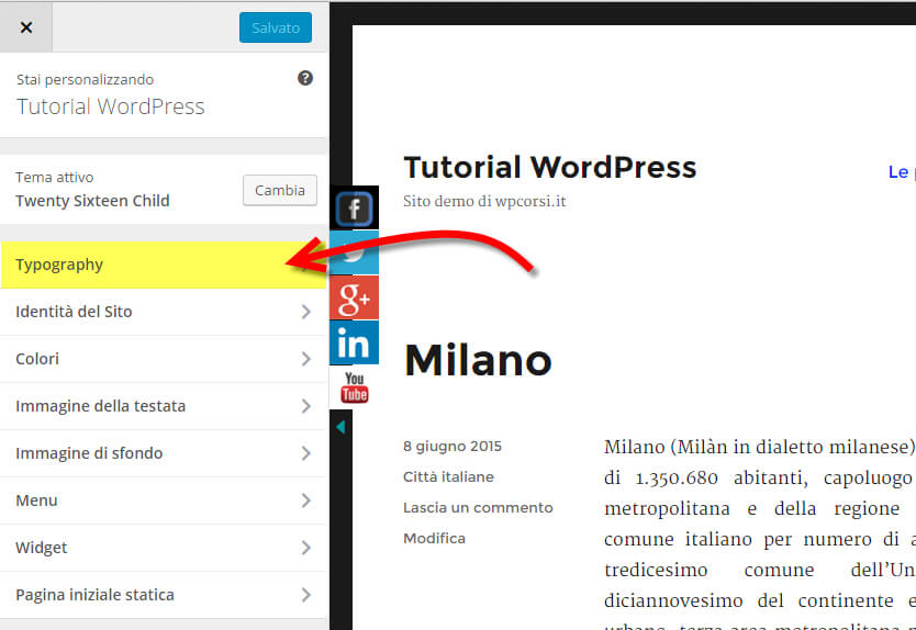easy google fonts personalizza tipografia