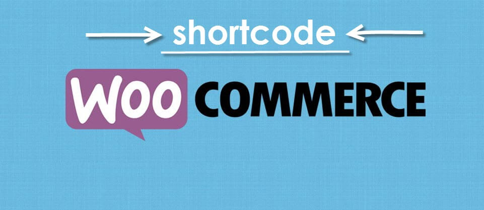 shortcode woocommerce