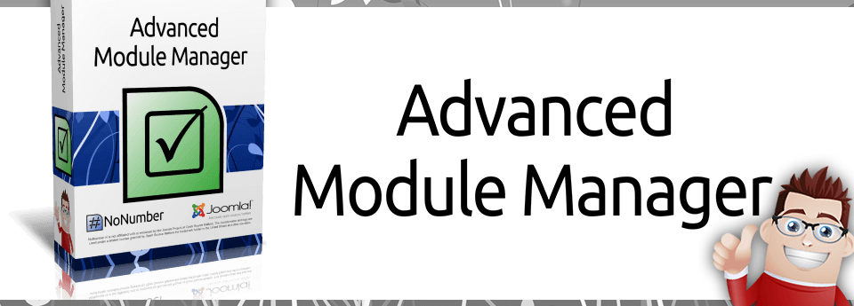 Gestione moduli Advanced Module Manager